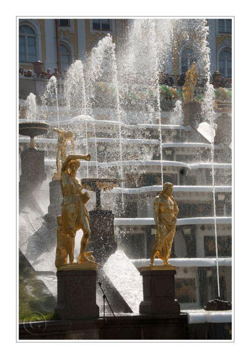 Les fontaines du jardin