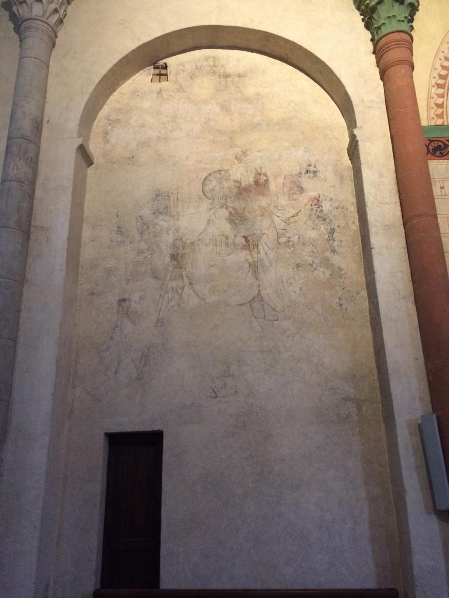 Les Peintures de l'église de Blesles.JPG