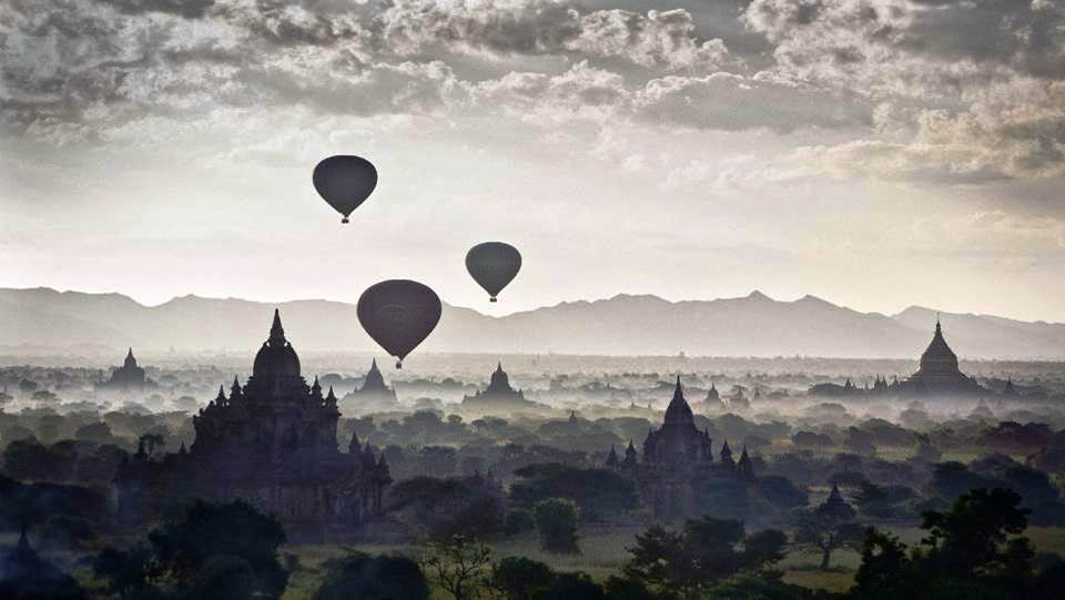 Edifices religieux (Pagodes, temples) Bagan (Myanmar)