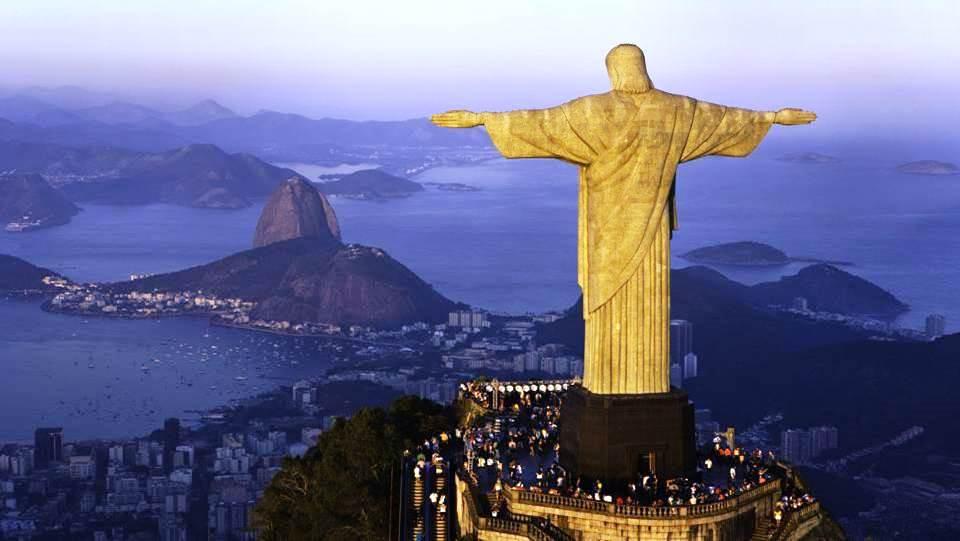 Le Christ rédempteur sur le Corcovado