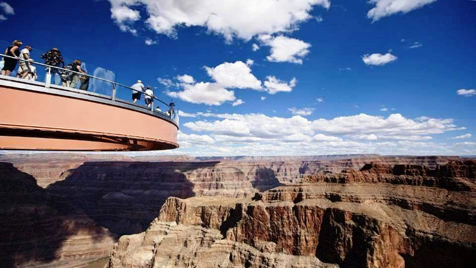 Le Skywalk au Grand Canyon (Arizona, USA)