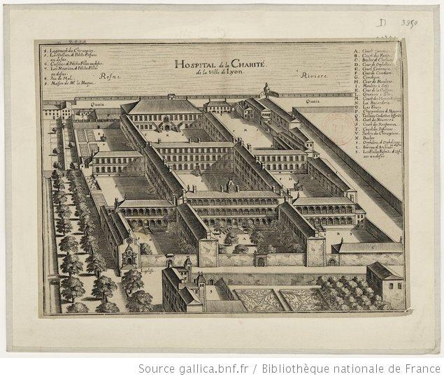 Lyon_hopital_charite_plan_Gallica_bnf