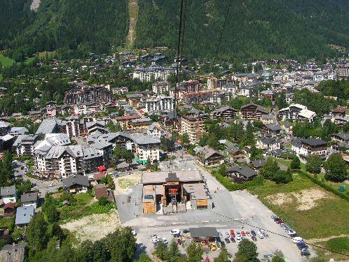 De l'aiguille du Midi à la pointe Helbronner  08/09
