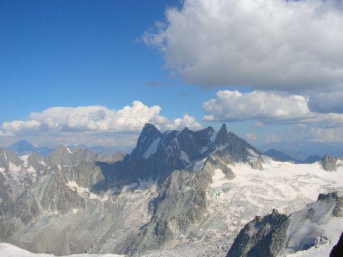 De l'aiguille du Midi à la pointe Helbronner