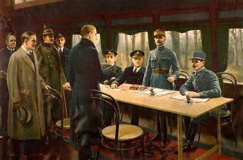 Signature-Armistice