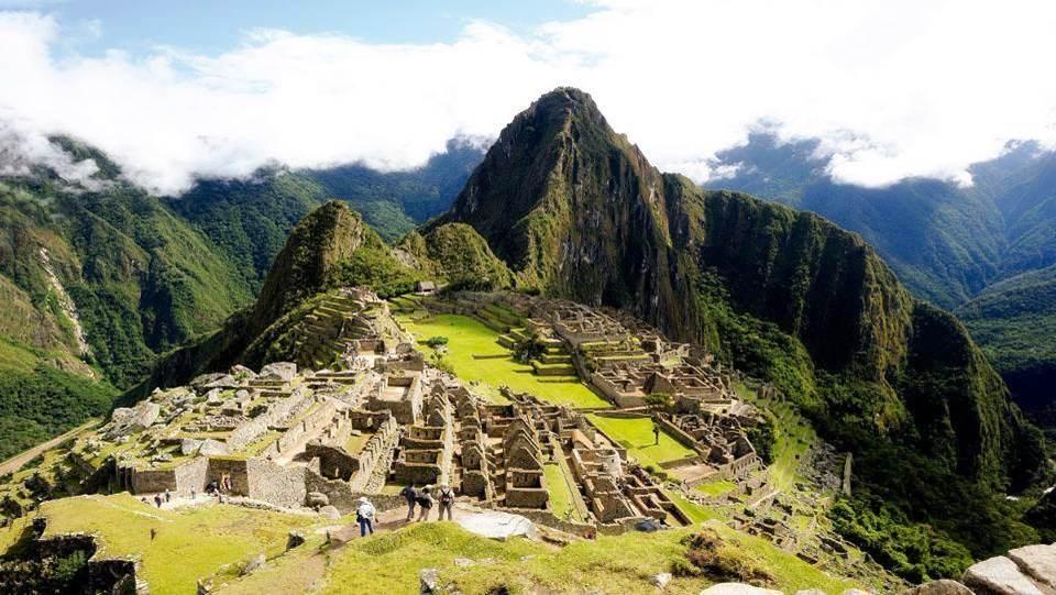 Sommet  Inca  Machu Picchu (Pérou)