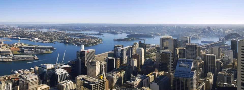 Sydney vue depuis la tour TV (Australie)