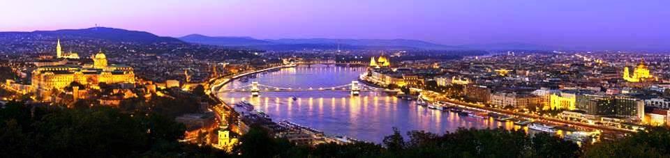 Vue spectaculaire de Budapest (Hongrie)