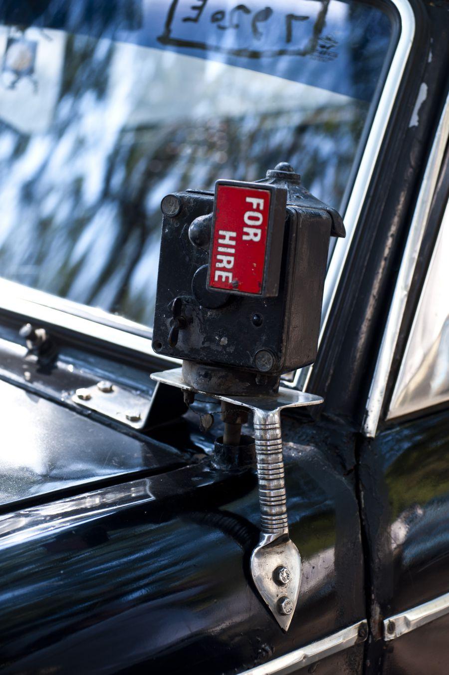 taxi à l'ancienne