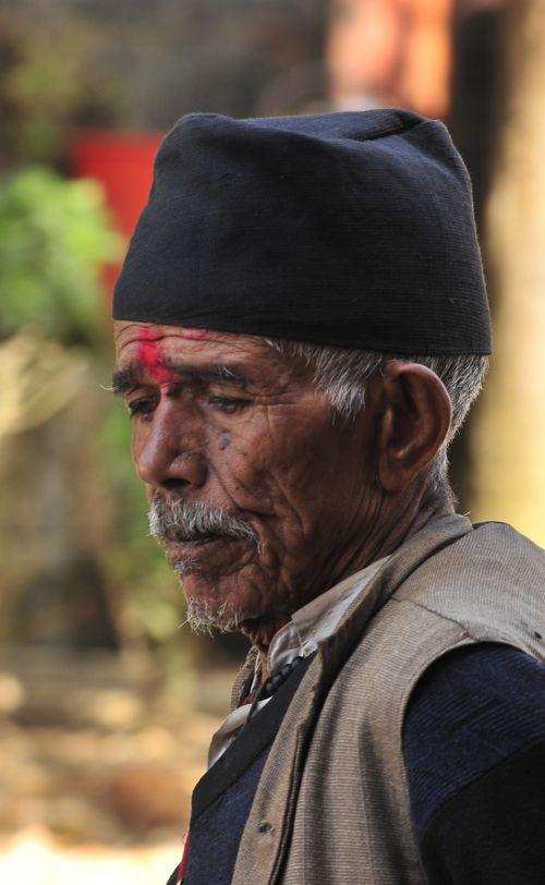 la toque typique du Népal