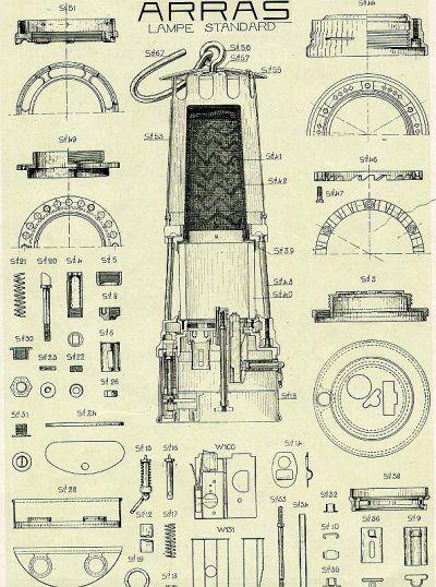 schéma de lampe ARRAS