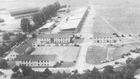vue de la caserne de butz ,avant l´incendie du hangar 2