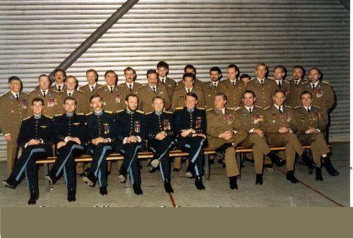groupe sous officier et officier 16 esc
