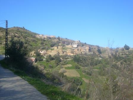 Village Izavachène, vue générale