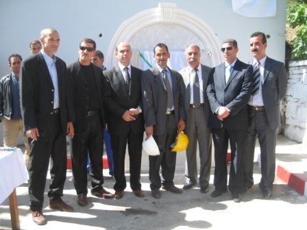 Photos du 7 mai 2012, inauguration du gaz naturel à Draa Kébila