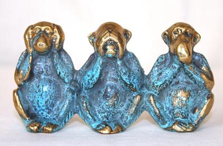 Les 3 singes de la Sagesse
