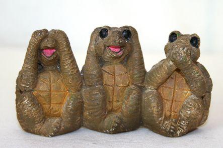 38 - c'est bien connu, les tortues arrivent avant les lièvres (stand marché)