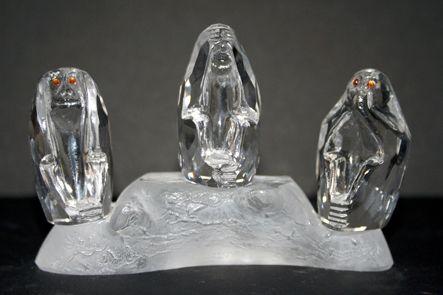 45 - fragiles, en cristal (Norwich Angleterre - cadeau GB)