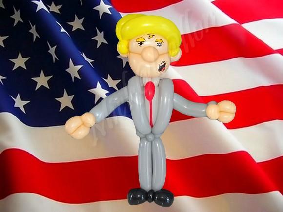 Caricature Donald Trump ^^ par Mickaballon