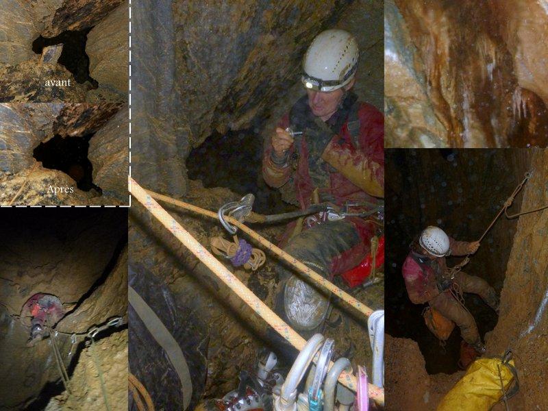 2018 04 21 21042018 Grotte du Roy ( Puits du Lavabo ) .JPG