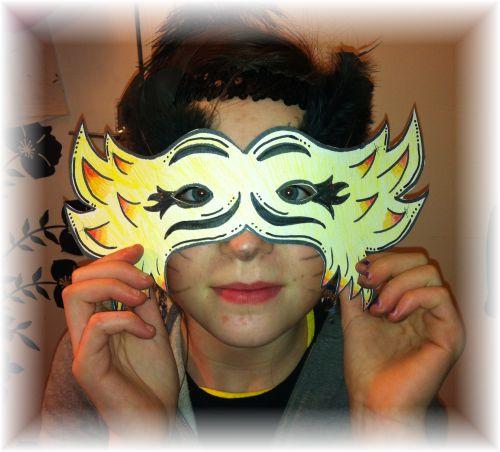 Carmine's Mask