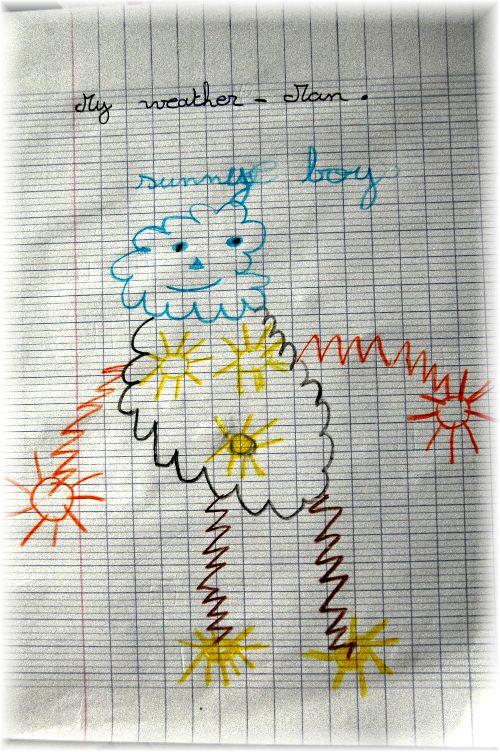Le Weather Man...