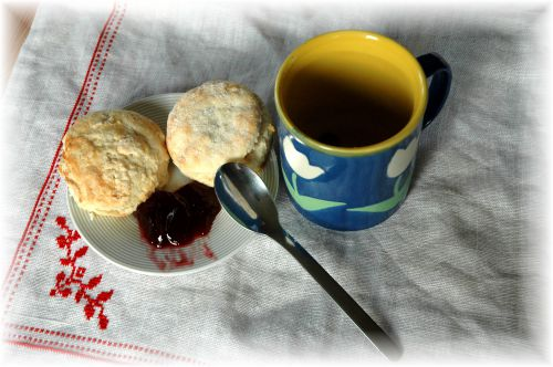 British Scones and British Tea