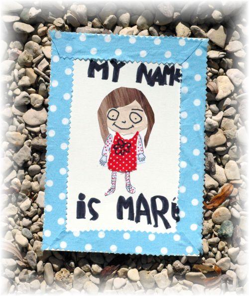 Maréva's self-portrait