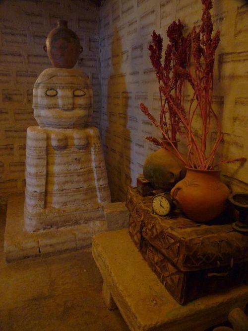 la déesse tunupa du petit musée de Colchani