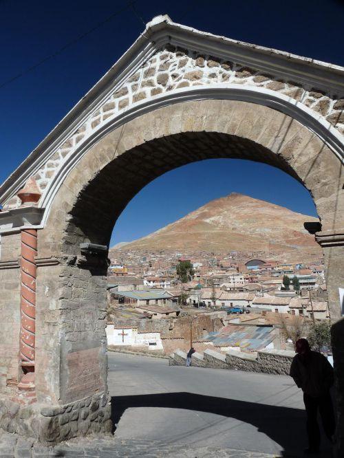 arche de cobija et cerro rico