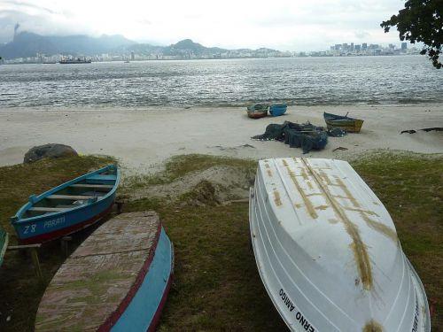 Vue de Niteroi sur Rio