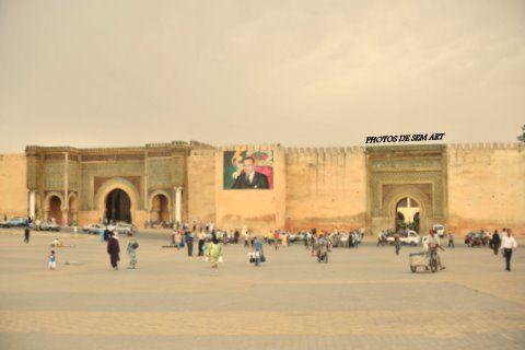La Ville de Meknes.