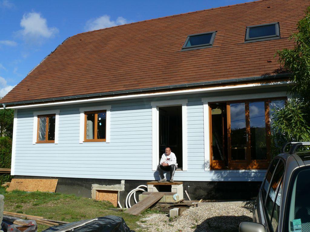 Auto construction maison ossature bois fanfan for Auto construction maison