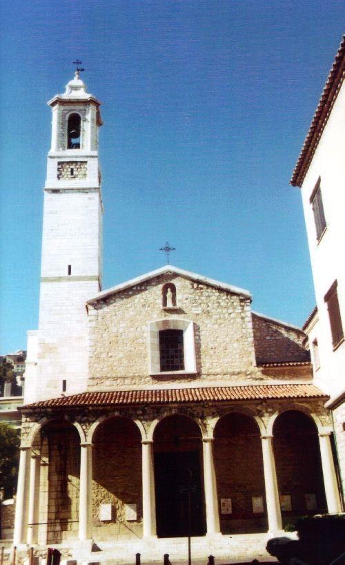 vue extérieure de l'église Saint-Paul