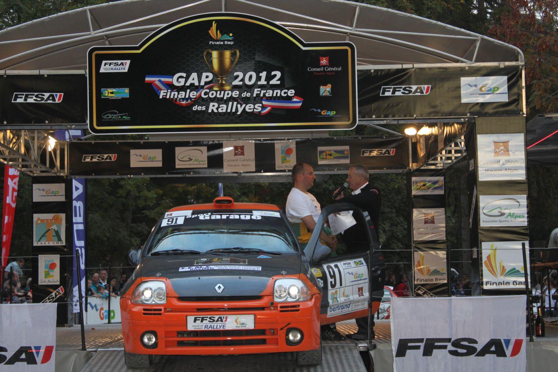 Finale de la coupe de france des rallyes gap 2012 team maugy sport auto - Finale coupe de france des rallyes ...