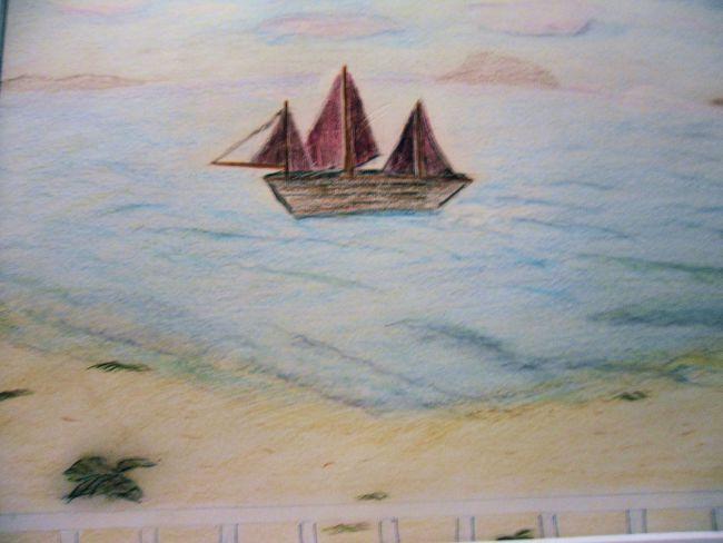 marine. pastel 2006