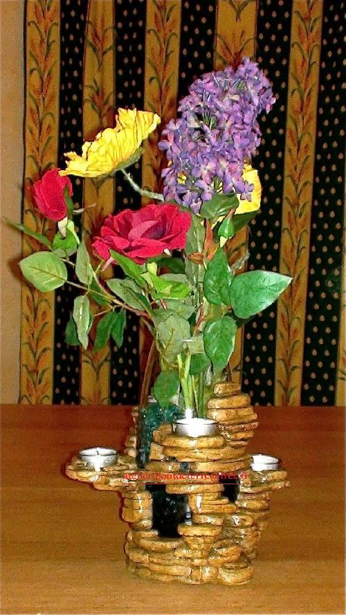 vase photophore tableau v g tal mur v g tal sculpture d coration int rieur d coration. Black Bedroom Furniture Sets. Home Design Ideas