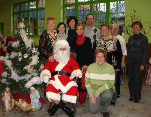 L'équipe du marché de Noël