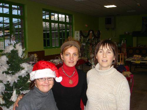 Claire, Corinne et notre Mimi