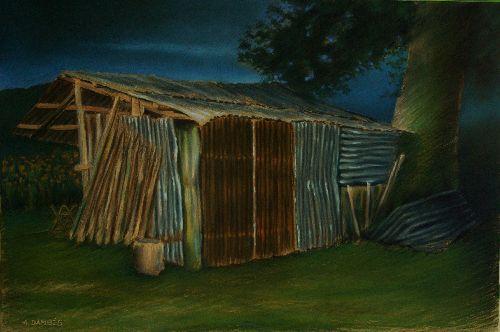 avant l'orage (2008)   60cm x 40cm