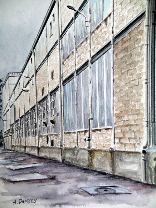 l'usine (2005)   36cm x 27cm