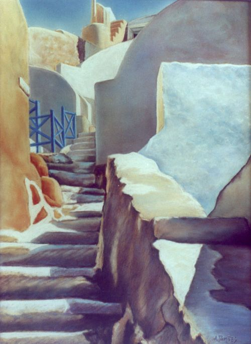 santorin (2003)   65cm x 50cm