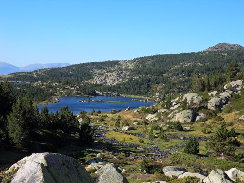 Estany llong - sites des Bouillouses - 15 08 12