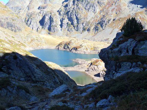Lacs Robert Massif de Belledonne 01 10 2012
