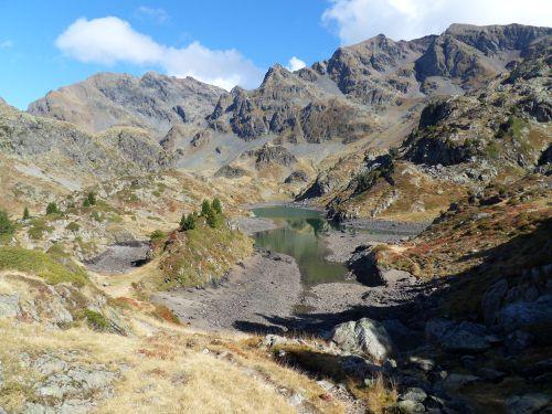 Lac Longet -Massif de Belledonne - 01 10 12