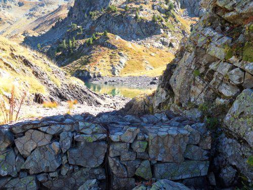 Lac Longet -Massif de Belledonne - 02 10 12