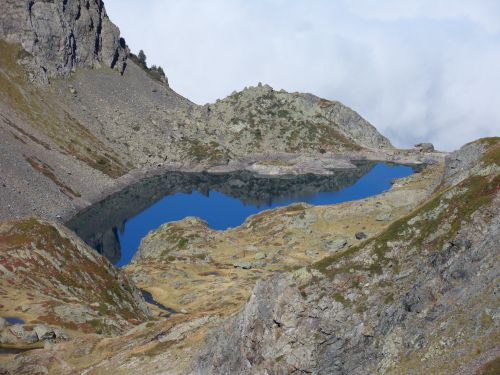 Lac Crozet massif Belledonne 01 10 12