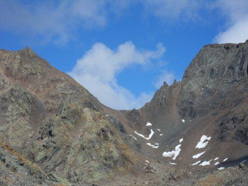 Col de Freydanne Massif Belledonne 01 10 12