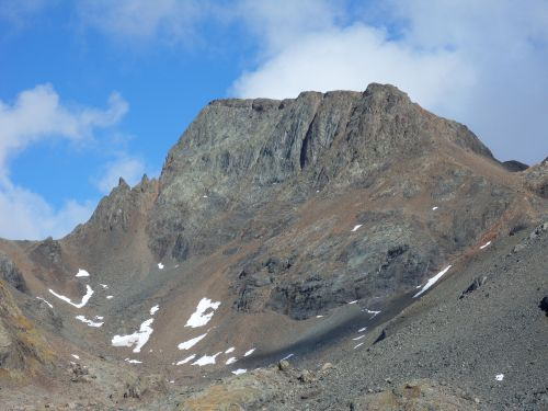 Grd pic de Belledonne massif de Belledonne 01 10 12