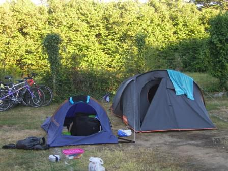 Premier campemment